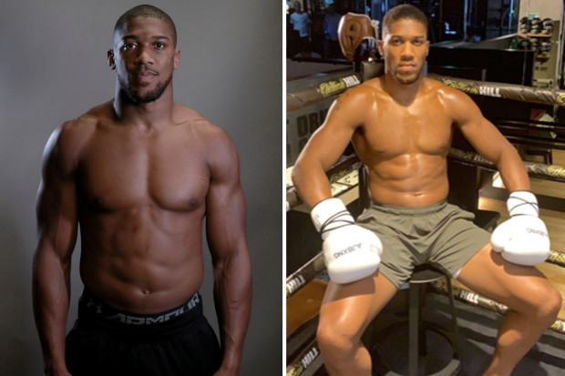 Anthony Joshua sotto steroidi?